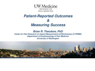 Patient-Reported Outcomes &  Measuring Success