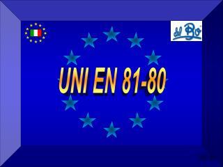 UNI EN 81-80