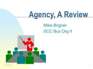 Agency, A Review