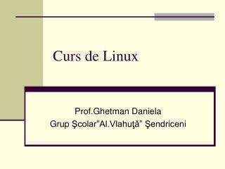 Curs de Linux