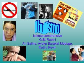 Istituto comprensivo G.B. Rubini  Ari Saliha, Ayoku Barakat Modupe, Tadini Kevin