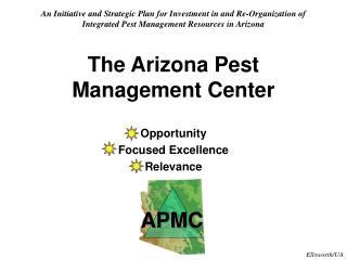 The Arizona Pest Management Center