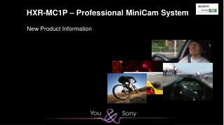 HXR-MC1P – Professional MiniCam System