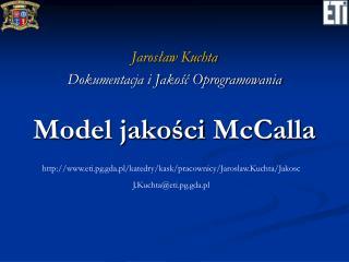 Model jakości  McCalla