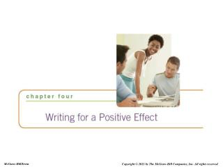 Writing for a Positive Effect