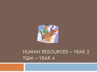 Human Resources – Year 2 TQM – Year 4