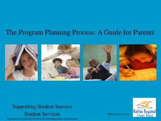 The Program Planning Process: A Guide for Parents