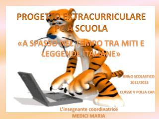 PROGETTO EXTRACURRICULARE PC A SCUOLA