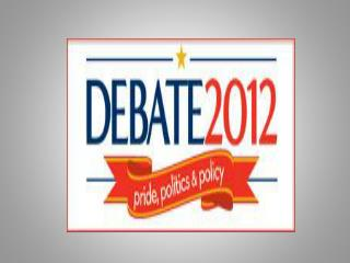 Debate 2012:   Teaching the 2012 Elections,  an HNET Workshop