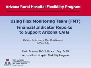 Arizona  Rural Hospital Flexibility  Program