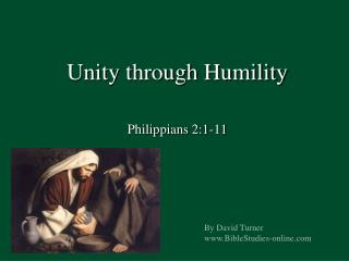 Unity through Humility