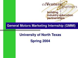General Motors Marketing Internship (GMMI)