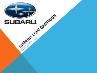 Subaru: Love Campaign