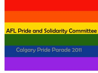AFL Pride and Solidarity Committee