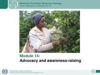 Module 14: Advocacy and awareness-raising