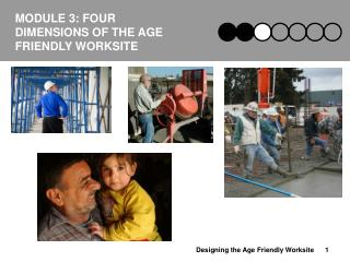 MODULE 3: FOUR DIMENSIONS OF THE AGE FRIENDLY WORKSITE