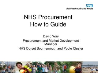 NHS Procurement  How to Guide