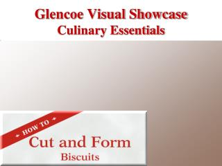 Glencoe Visual Showcase Culinary Essentials