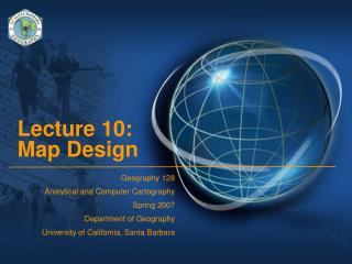 Lecture 10:  Map Design