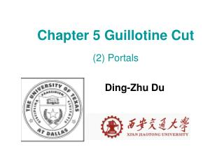 Chapter 5 Guillotine Cut