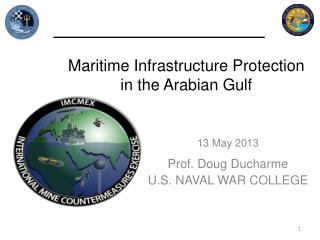 Maritime Infrastructure Protection in the Arabian Gulf