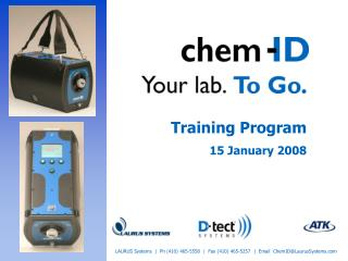 Training Program 15 January 2008