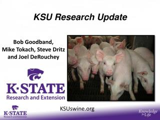KSU Research Update