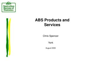 ABS Products and Services
