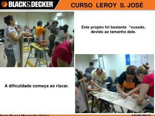 CURSO  LEROY  S. JOSÉ