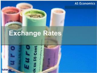 at the end of the lesson u should be able to: 	understand meaning of exchange rate (ER)  meaning of  Nominal ER meaning