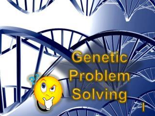 Genetic Problem Solving