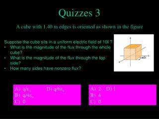Quizzes 3