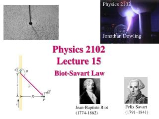 Physics 2102  Lecture 15