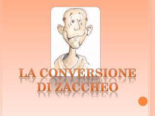 Nella città di Gerico viveva un uomo chiamato Zaccheo.  Era un esattore delle tasse ed era molto ricco.