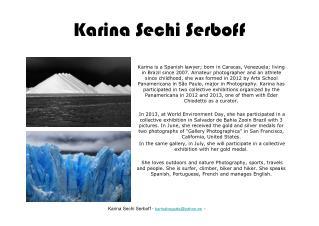 Karina Sechi Serboff
