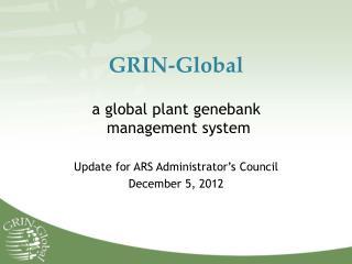 GRIN-Global