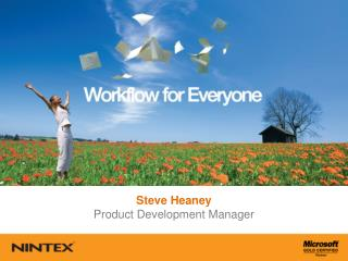 Steve Heaney Product Development Manager