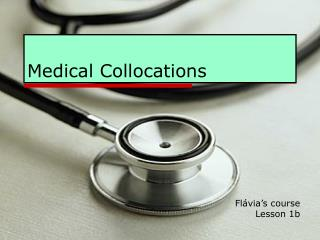 Medical Collocations