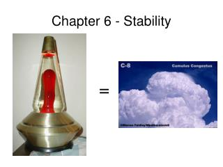 Chapter 6 - Stability