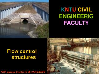 K N T U CIVIL ENGINEERIG FACULTY