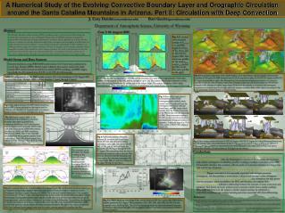 J. Cory Demko  (coryuw@uwyo.edu) Bart Geerts (geerts@uwyo.edu) Department of Atmospheric Science, University of Wy