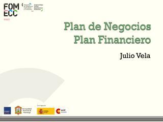 Plan de Negocios Plan Financiero