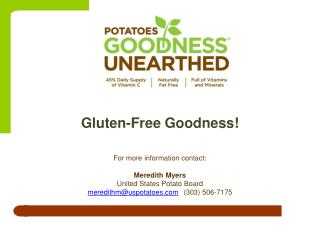 Gluten-Free Goodness!