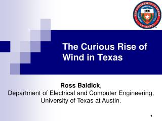The Curious Rise of Wind in Texas