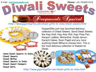 Diwali Sweets, Send Diwali Sweets to India, Diwali Gifts