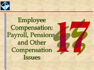 Employee Compensation:  Payroll, Pensions, and Other Compensation Issues