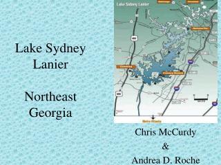 Lake Sydney Lanier Northeast Georgia