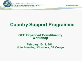 Country Support  Programme