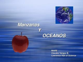 Manzanas Y OCEANOS