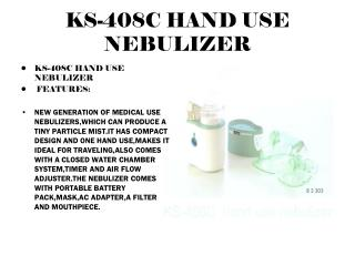 KS-408C HAND USE NEBULIZER